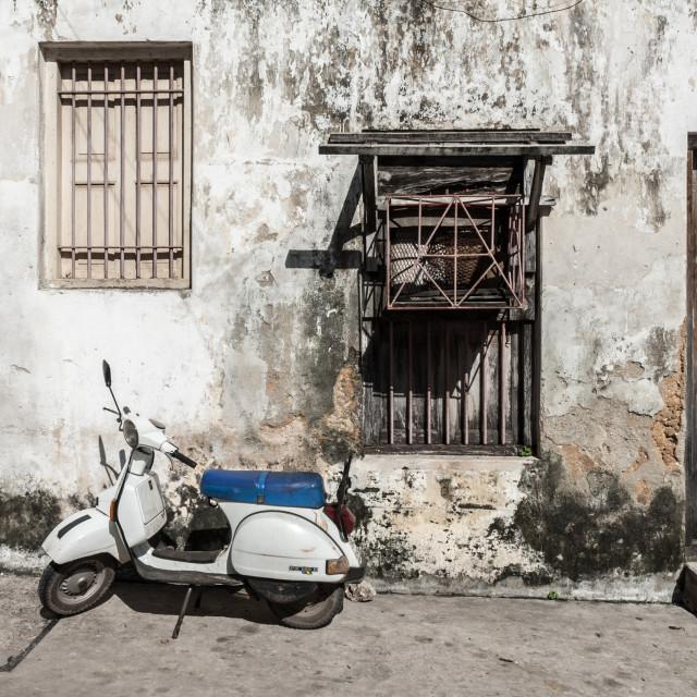"""""""Zanzibar scooter"""" stock image"""