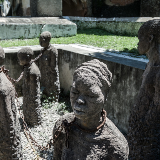 """Anti-slavery monument"" stock image"