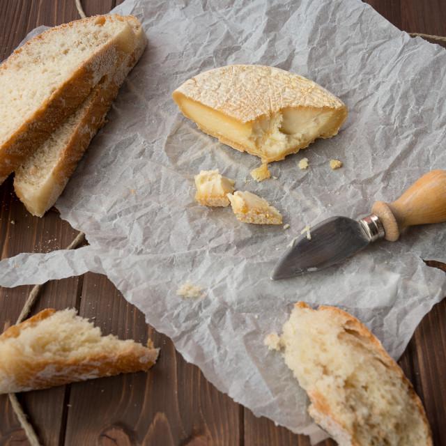 """Seasoned italian Cheese"" stock image"