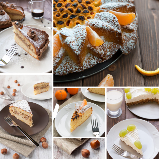 """Cake composition"" stock image"