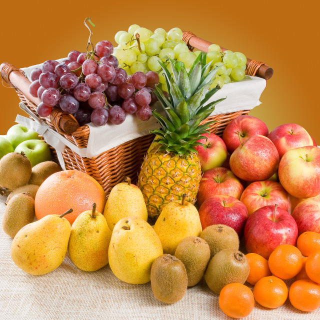 """Composition of Fruits"" stock image"