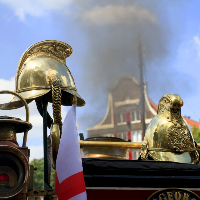 """Helmets steam locomotive"" stock image"
