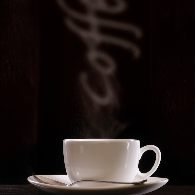 """Coffee Smoke"" stock image"