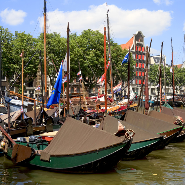 """Historic boats"" stock image"