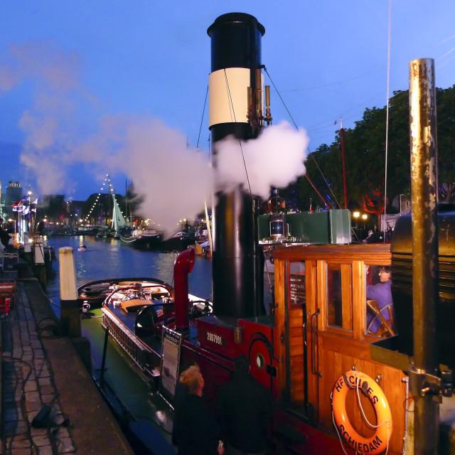 """""""Steamboat Hercules"""" stock image"""