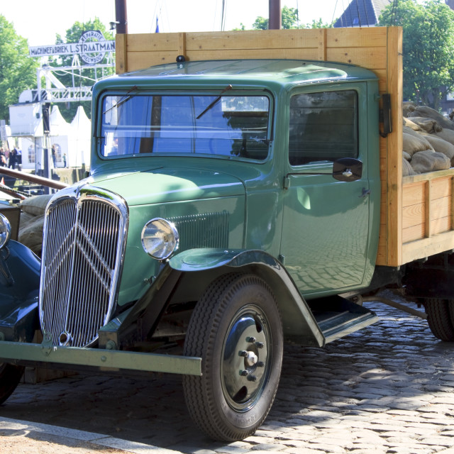 """""""Old timer truck"""" stock image"""