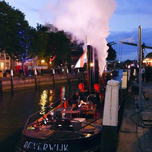 """""""Steamboat Beverwijk"""" stock image"""