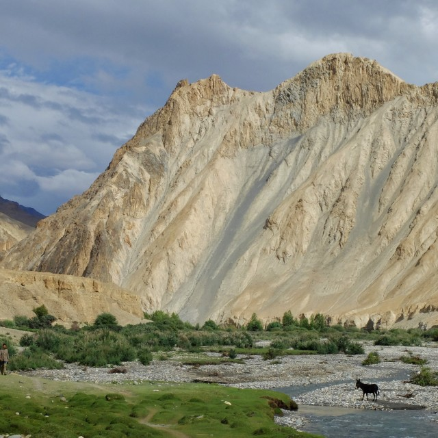 """Mountain Landscape Ladakh"" stock image"