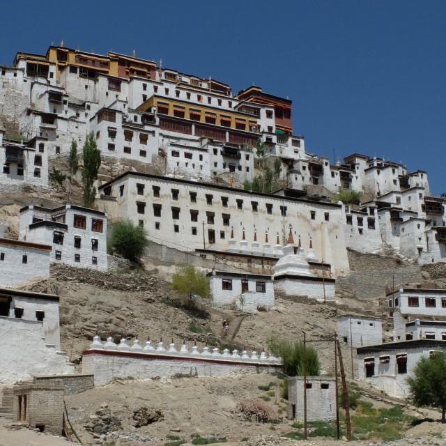 """""""Thikse Monastery - Leh - Ledakh"""" stock image"""
