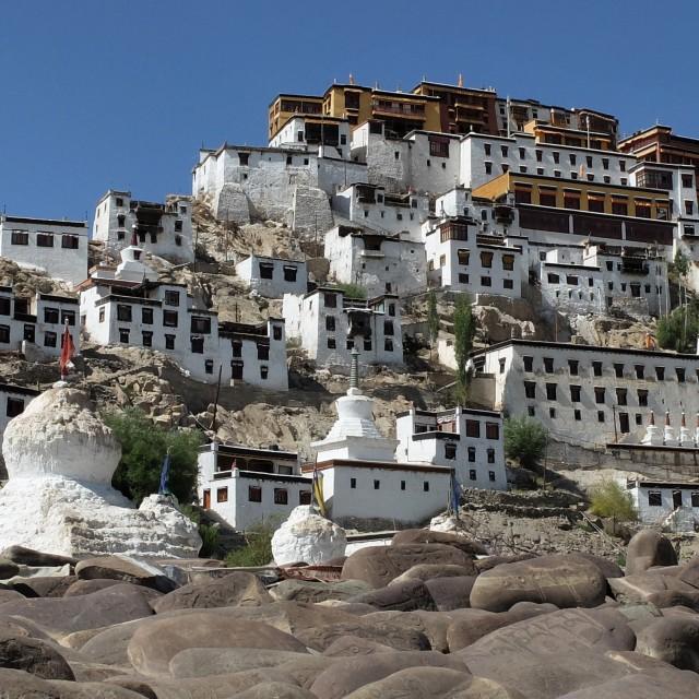 """""""Thikse Monastery Leh- Ledakh"""" stock image"""