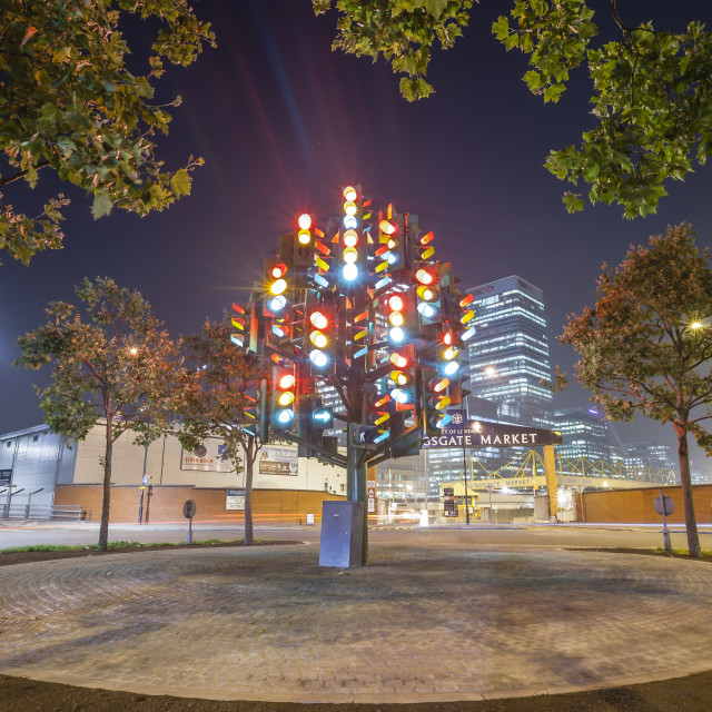"""Traffic Light Tree"" stock image"