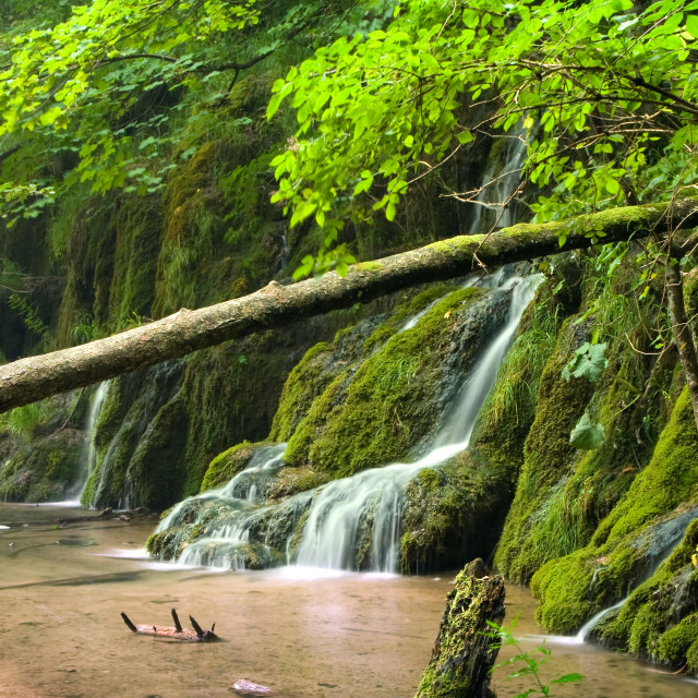 """Waterfalls"" stock image"