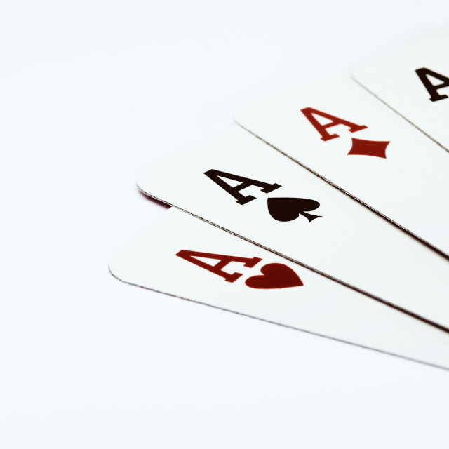 """Four Aces"" stock image"