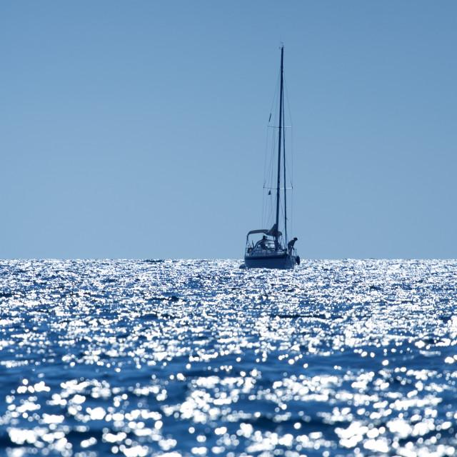 """""""Sail boat"""" stock image"""