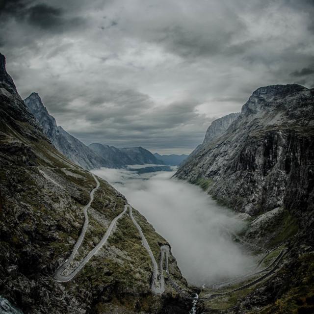 """""""Trollstigen"""" stock image"""