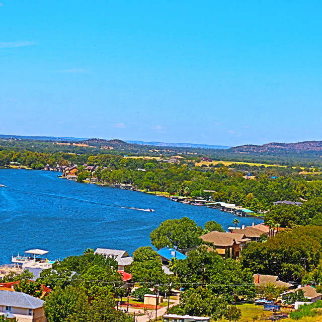 """Lake LBJ"" stock image"