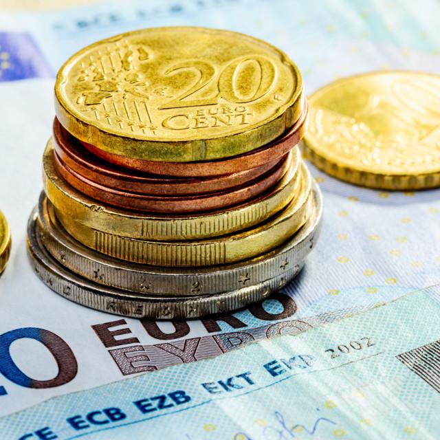 """Euro Money"" stock image"