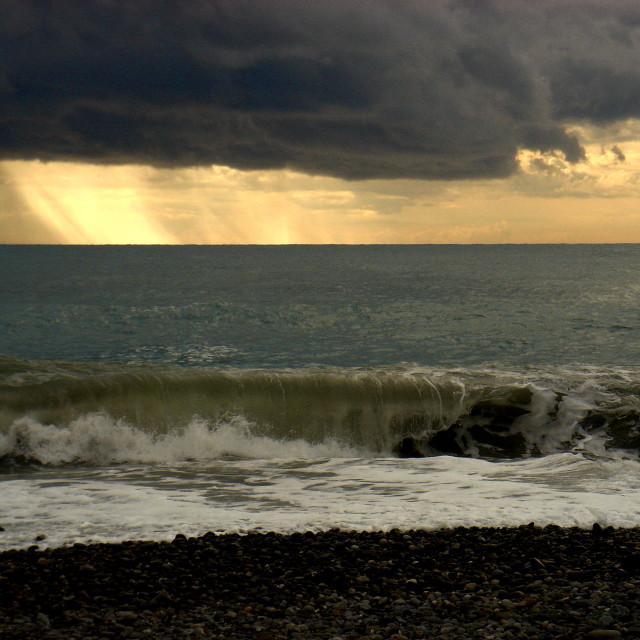 """Stormy Sky I"" stock image"