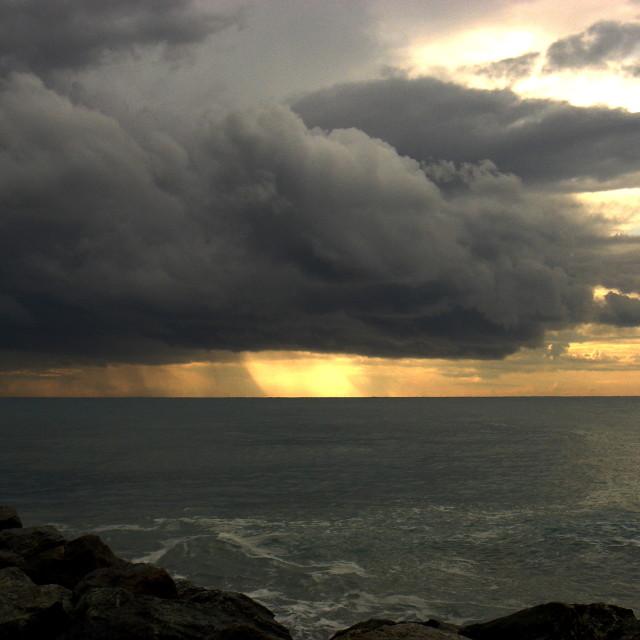 """Stormy Sky II"" stock image"