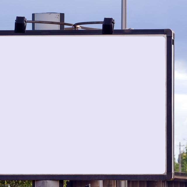 """Billboard"" stock image"