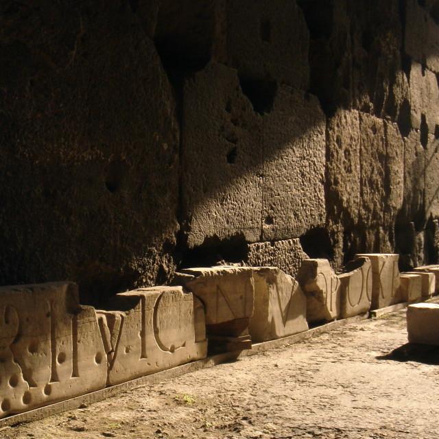 """Colosseum Detritus"" stock image"