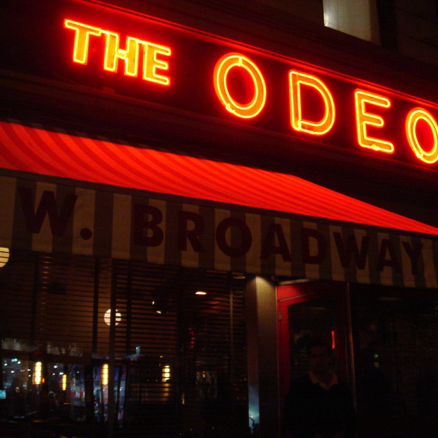 """The Odeon"" stock image"