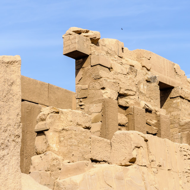 """Karnak temple in Luxor, Egypt"" stock image"
