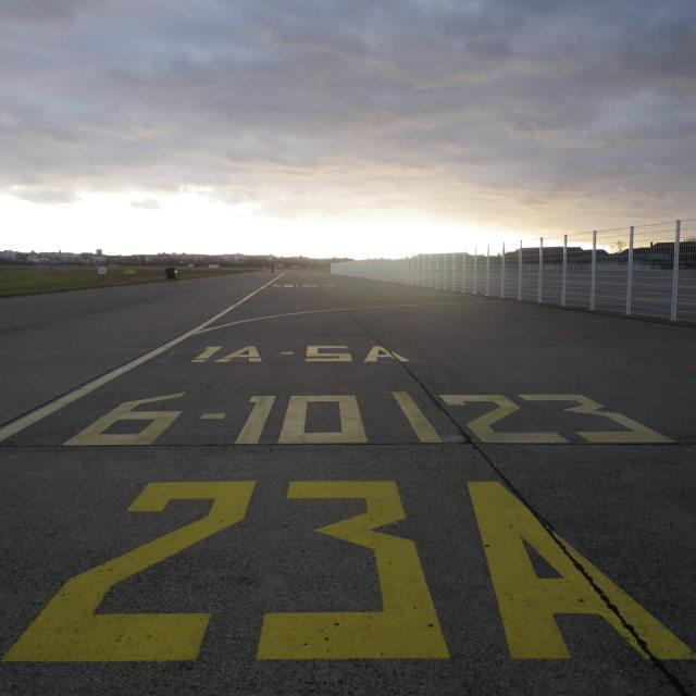 """""""Tempelhof Tarmac"""" stock image"""