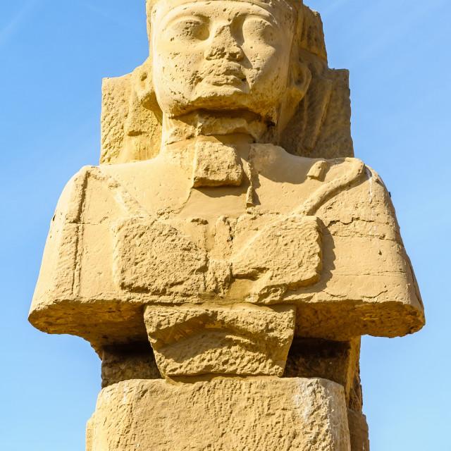 """""""Karnak temple in Luxor, Egypt."""" stock image"""