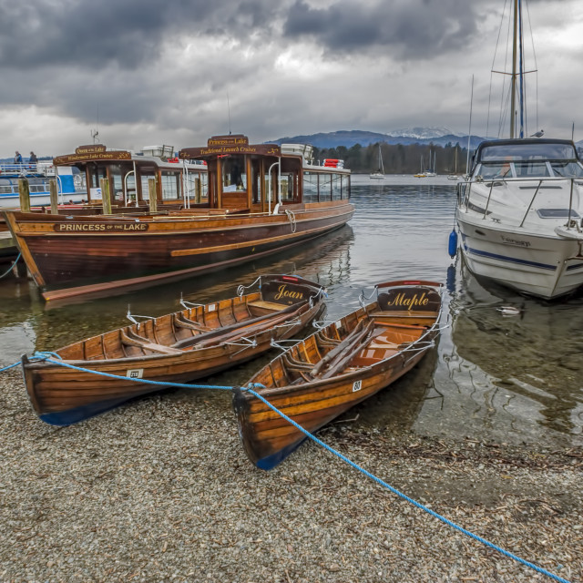 """Lake Windermere"" stock image"