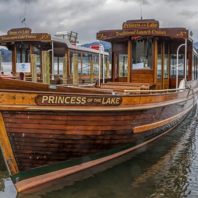 """Princess of the Lake"" stock image"