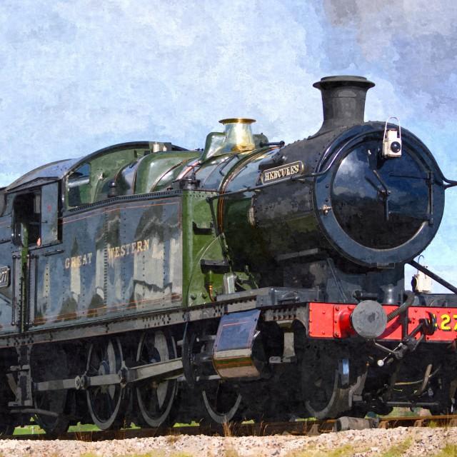 """Steam Train Hercules GWR"" stock image"