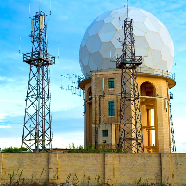 """""""Radar Station in Dingli"""" stock image"""