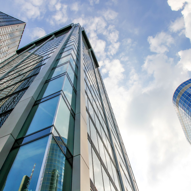 """Modern Architecture in Frankfurt am Main"" stock image"