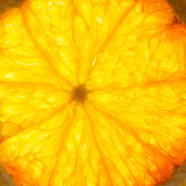 """Slice of Orange"" stock image"
