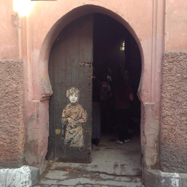 """""""Moroccan Doorway"""" stock image"""