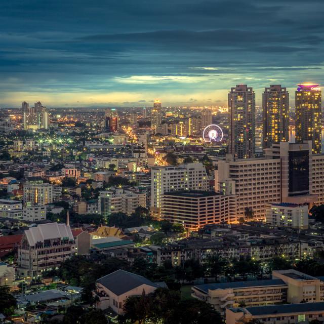 """""""Bangkok Cityscape , Thaialand"""" stock image"""