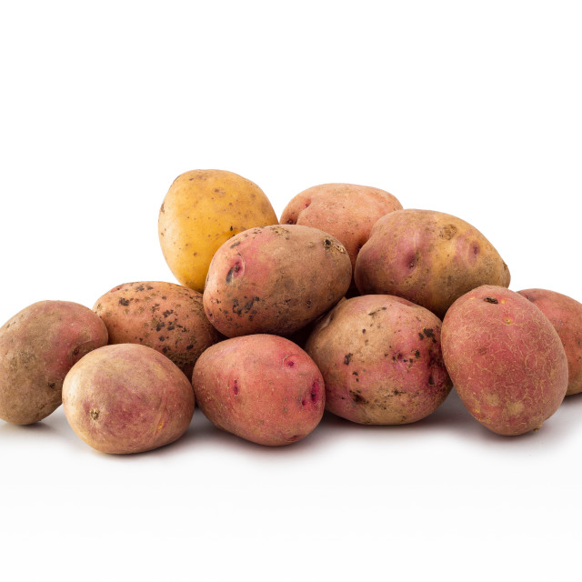 """Red Potatoes"" stock image"