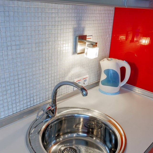 """Kitchen Sink"" stock image"