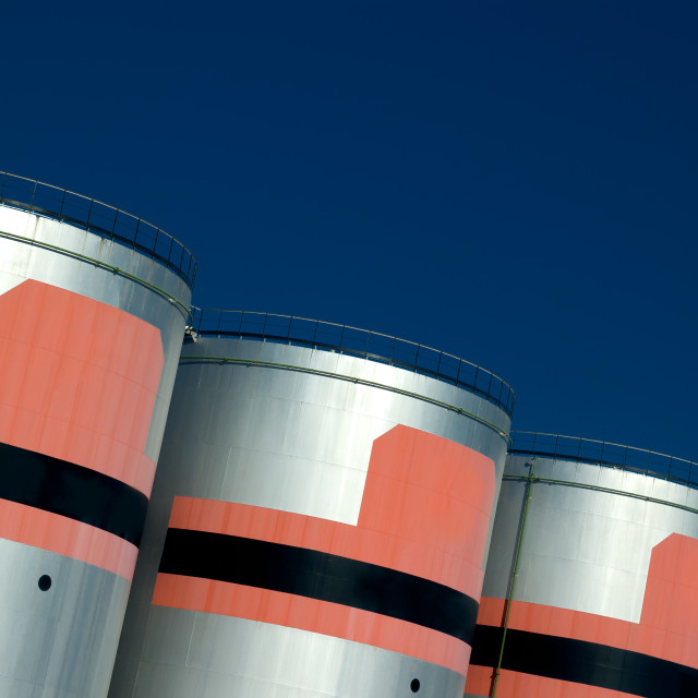 """Fuel Depot"" stock image"