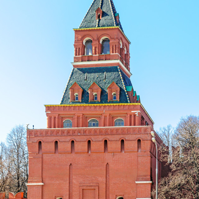 """Kremlin's Tower"" stock image"