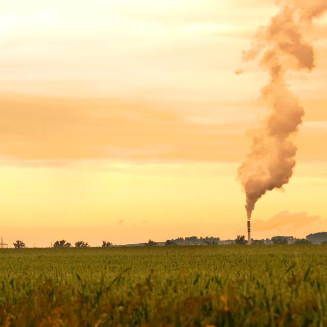"""Environmental pollution"" stock image"
