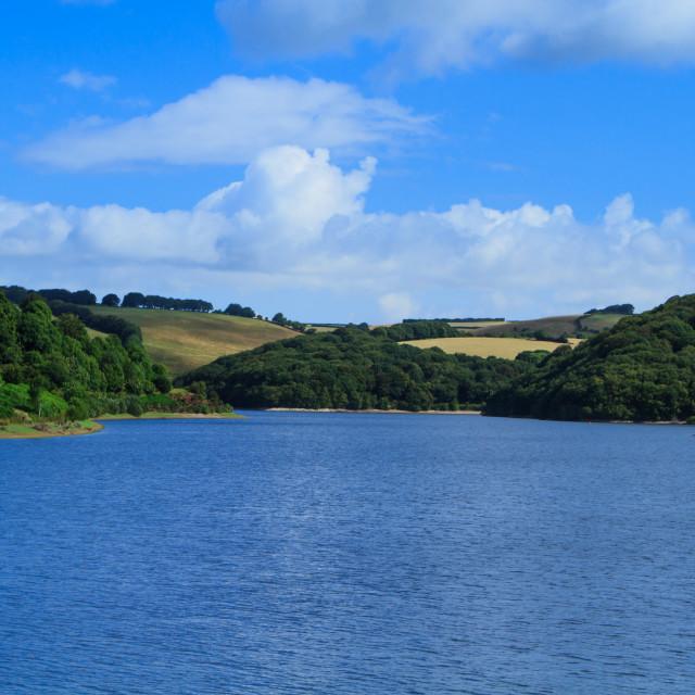 """Clatworthy Reservoir"" stock image"