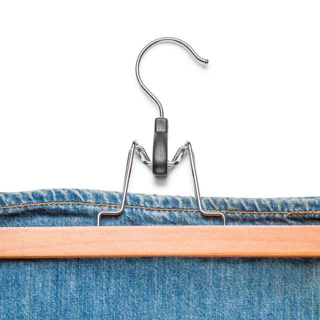 """""""Trousers Tanger with Jeans"""" stock image"""