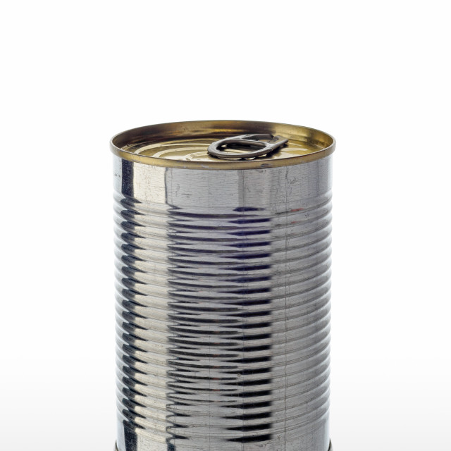 """""""Simple Tin Can"""" stock image"""