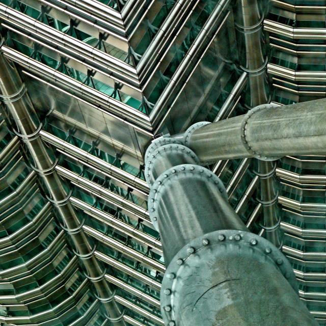 """""""PETRONAS TOWERS"""" stock image"""