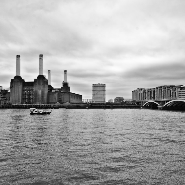 """Battersea Powerstation"" stock image"