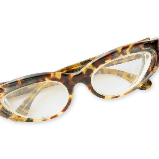 """Old Tortoise Eyeglasses"" stock image"