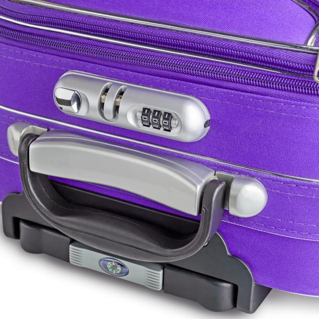 """""""Suitcase Lock Detail"""" stock image"""