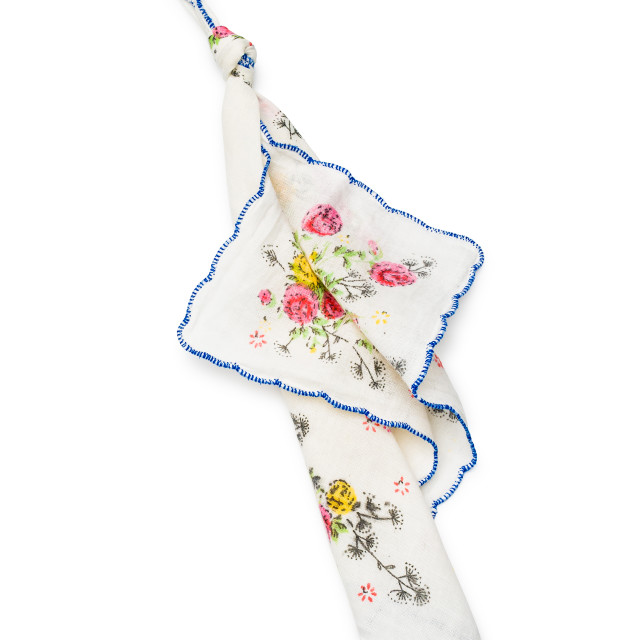 """""""Handkerchief with a Knot"""" stock image"""